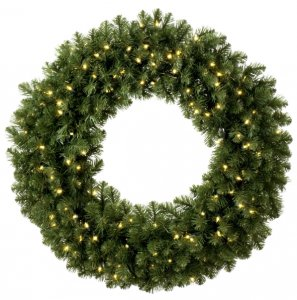 lit-wreath